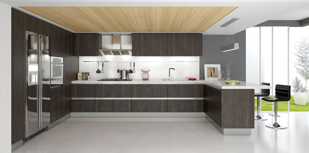 Cabinet Trends rock kitchen