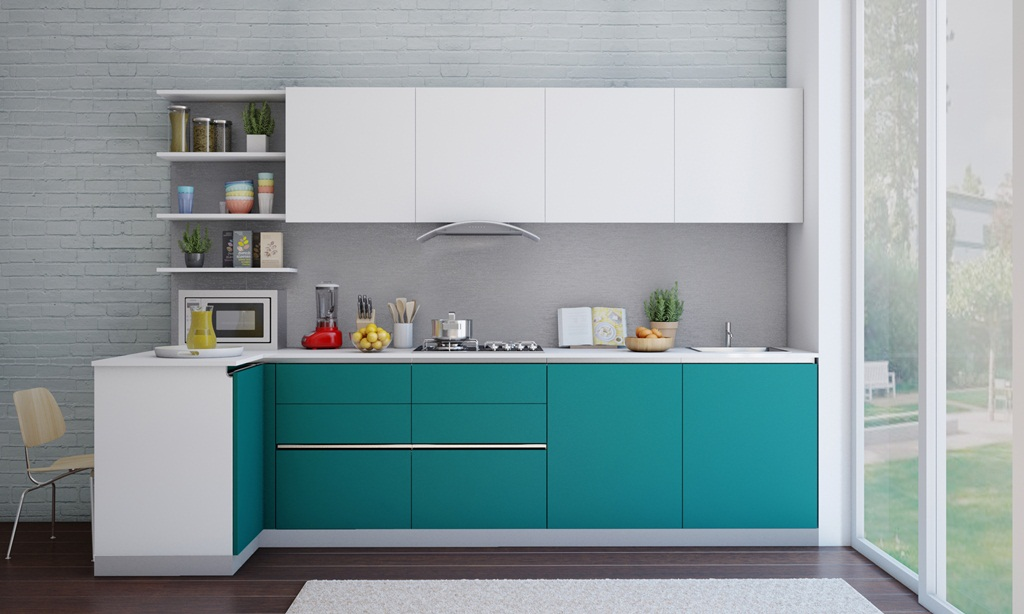 L-Shaped Kitchen Design