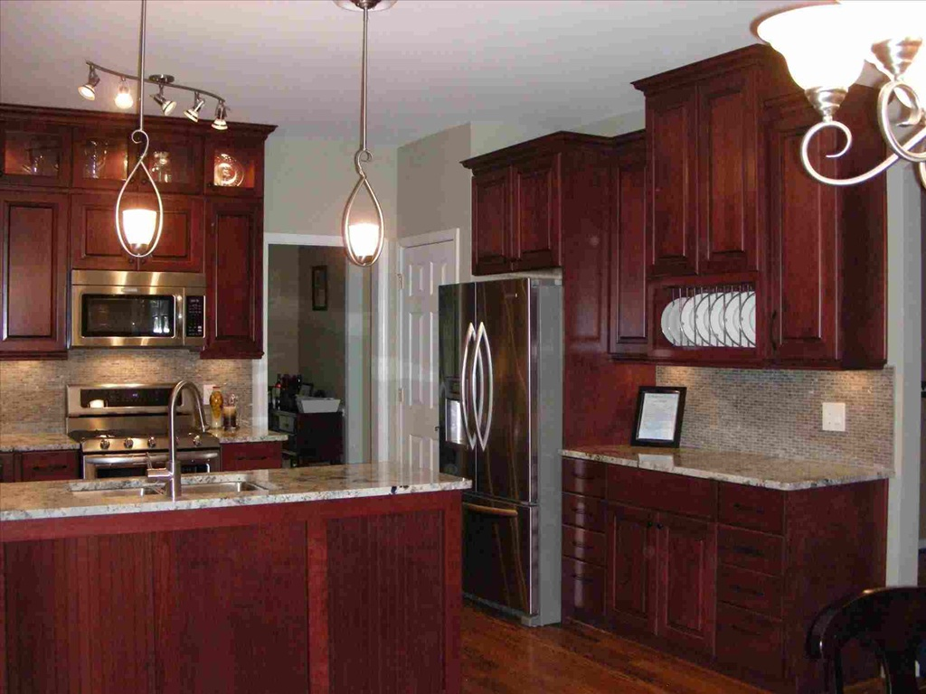 2019 Cherry Wood Cabinets Beauty And Durability For Every