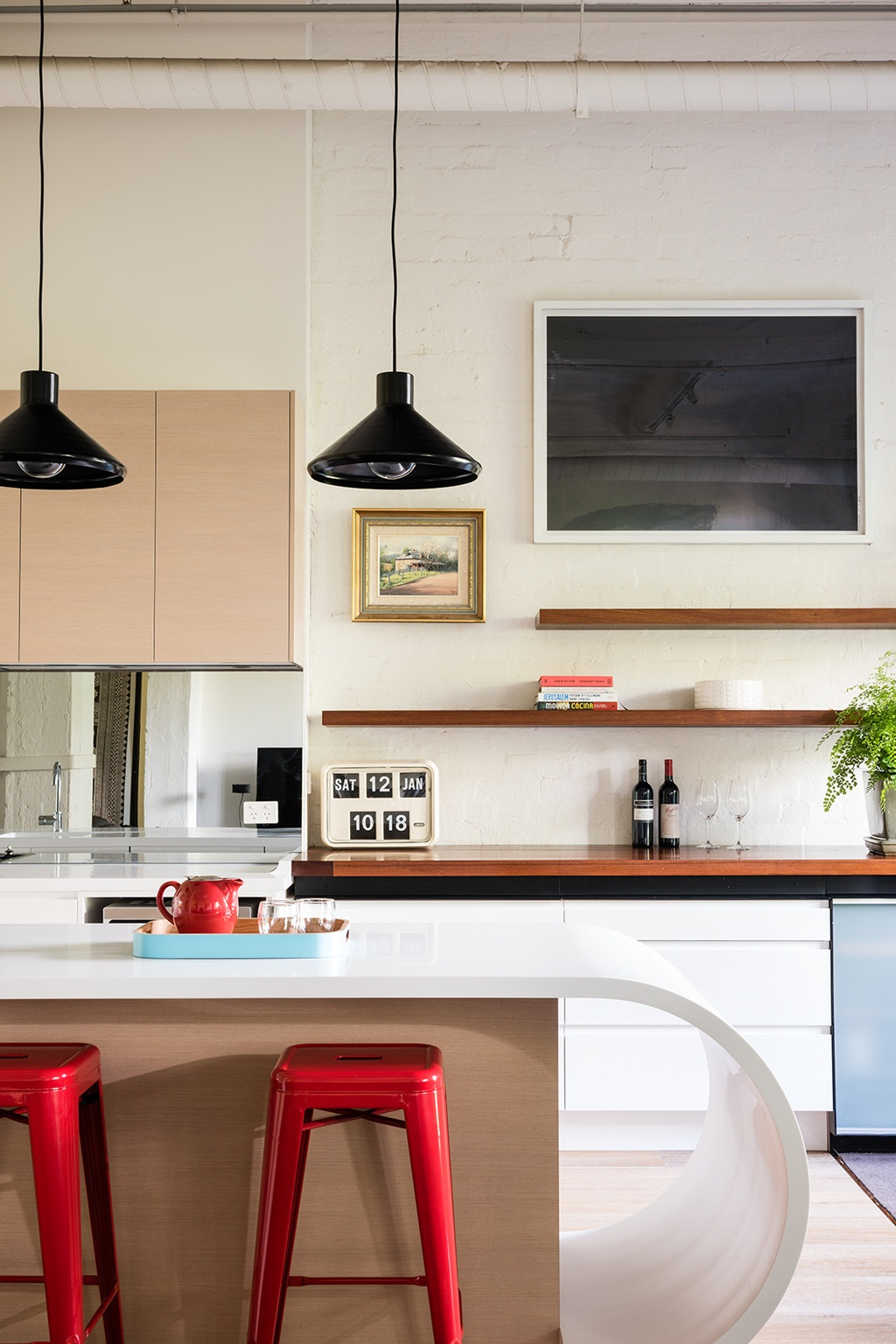 Kitchen Gallery Wall