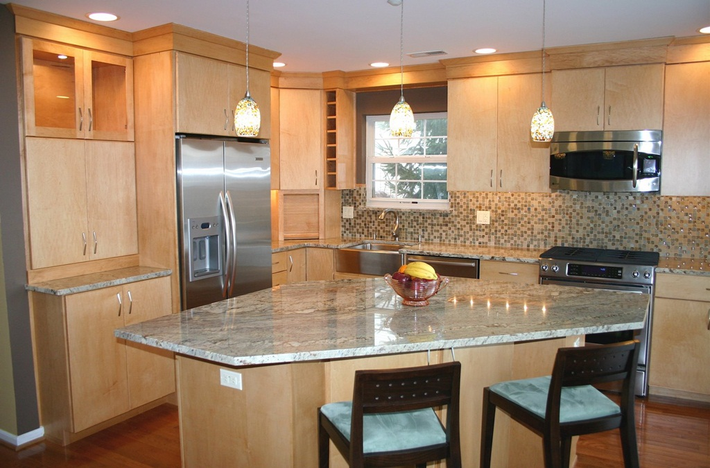Kitchen Island Designing
