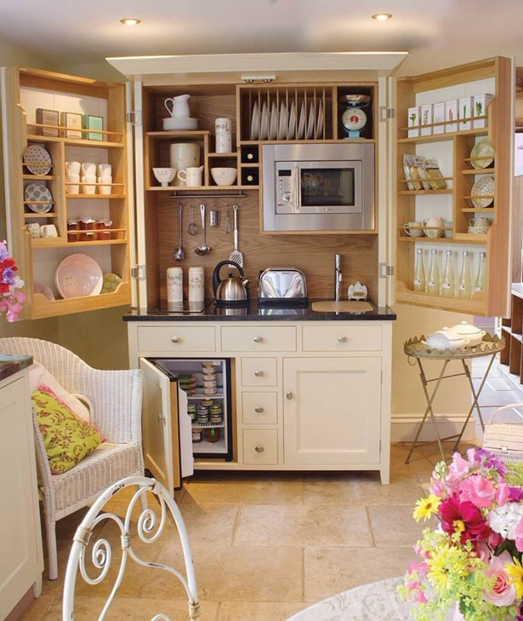 Tiny Useful Kitchens