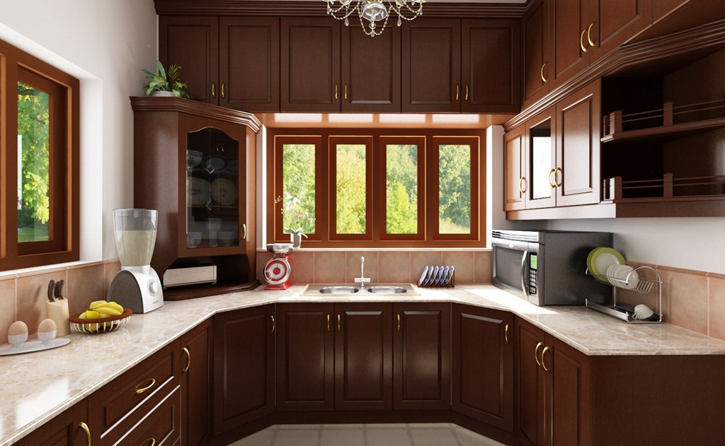 Elegant Kitchen Cabinet Décor