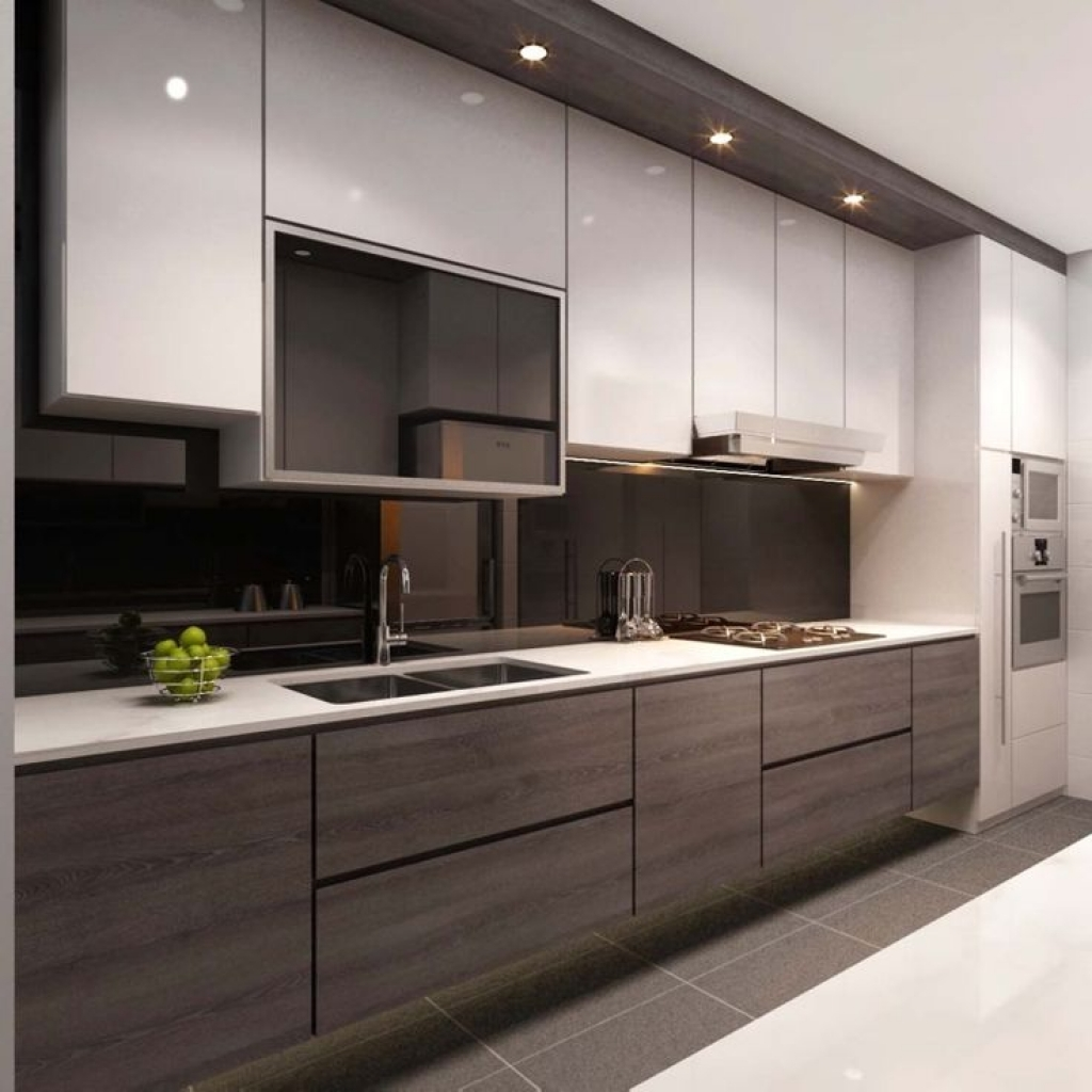 Ultra-Modern Kitchen Design – Impressive and Practical Look ...