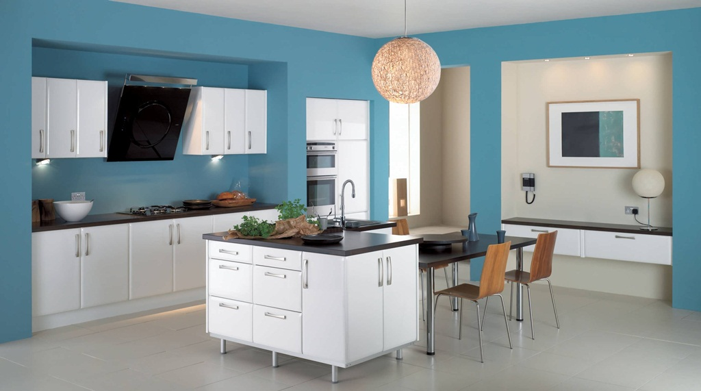 Popular Middle Kitchens Color Schemes
