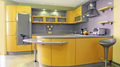 Give Your 2019 Kitchen A Stylish And Trendy Look With Grey And Yellow