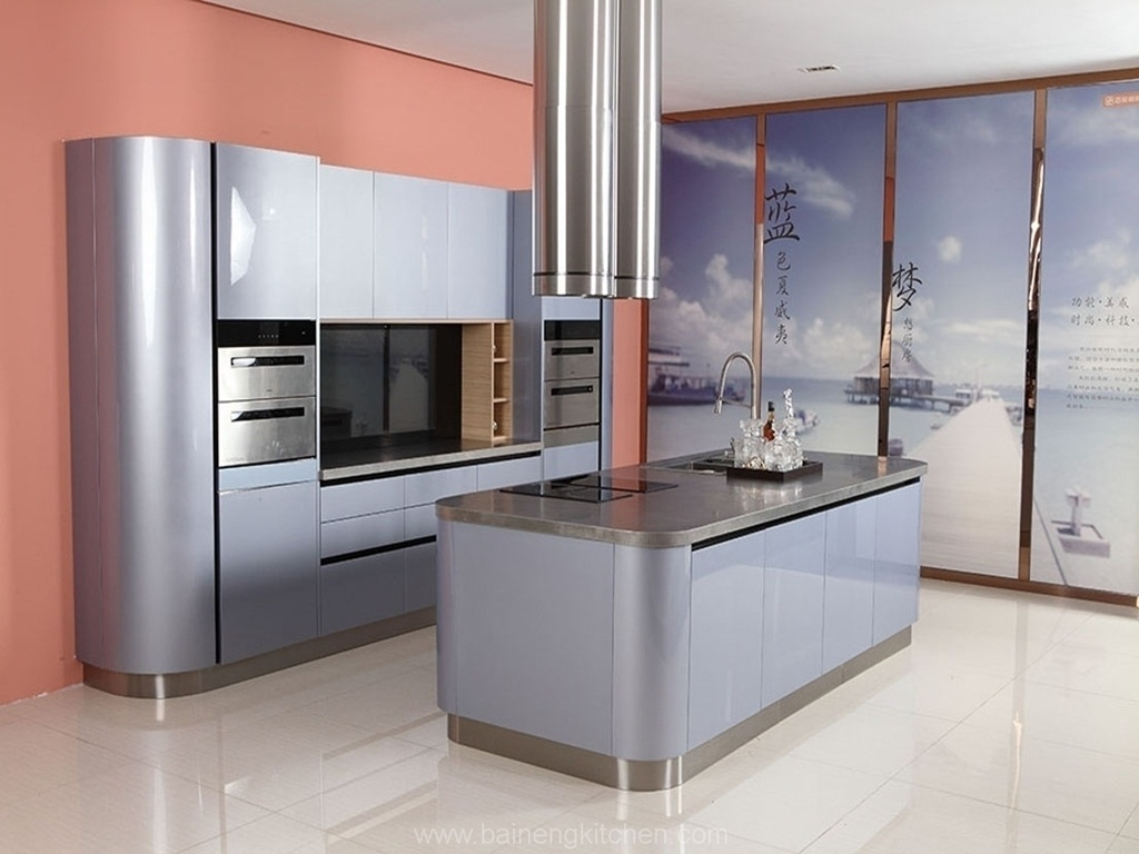 Stainless Steel Kitchen Design