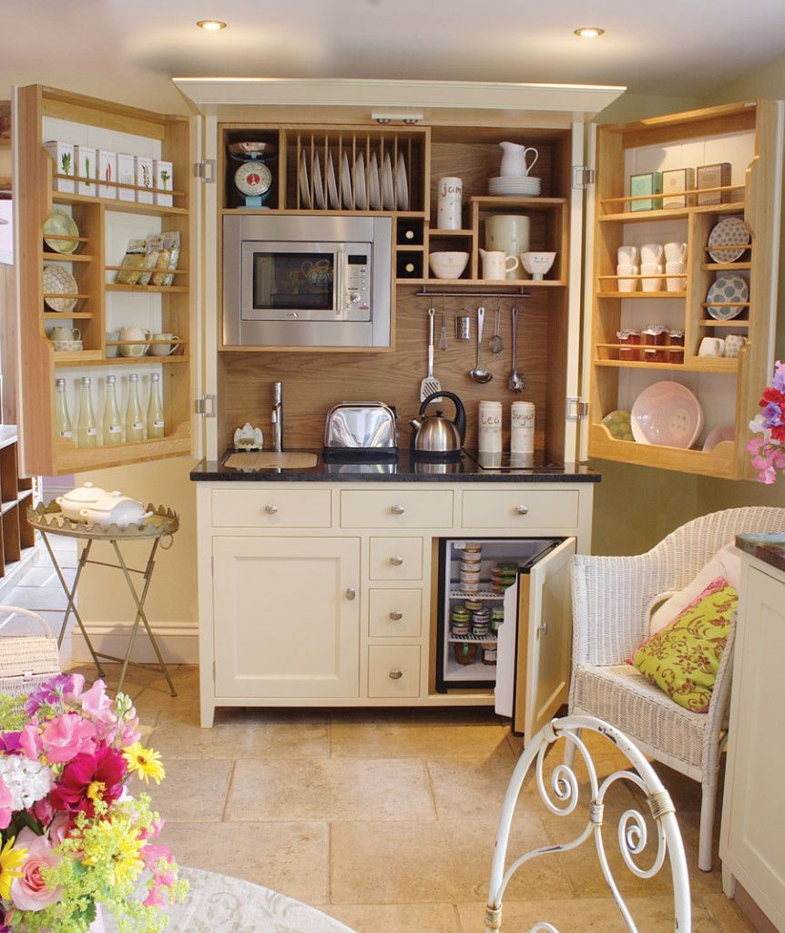 Functional Kitchenette