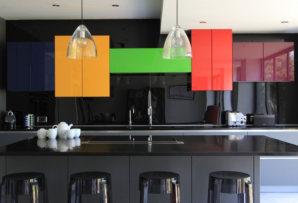 Kitchen Glass Blocks