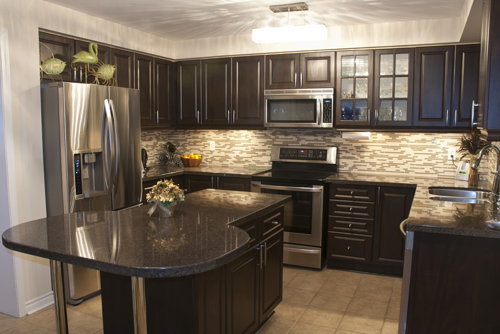 Gorgeous Brown Kitchens ideas