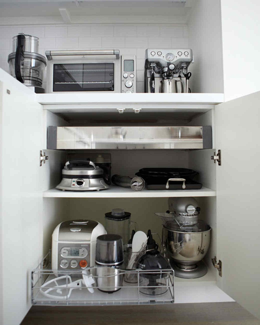 Kitchen Appliances Organizing