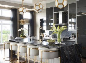 Trendy Kitchen with a Gold Hue - Give your Space a Beautiful Shine