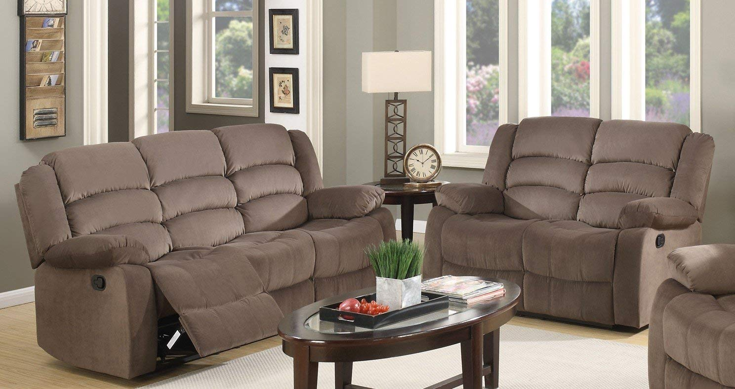 Traditional Brown Brush Microfiber Sofa Top 10 Sofas for Sale Furniture Stores