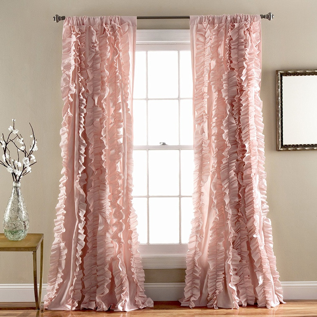Perfect Pink Curtain