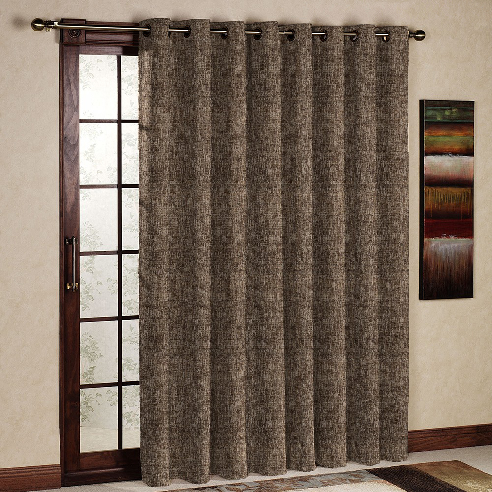 Brown Curtains Perfect Attractive Functionality