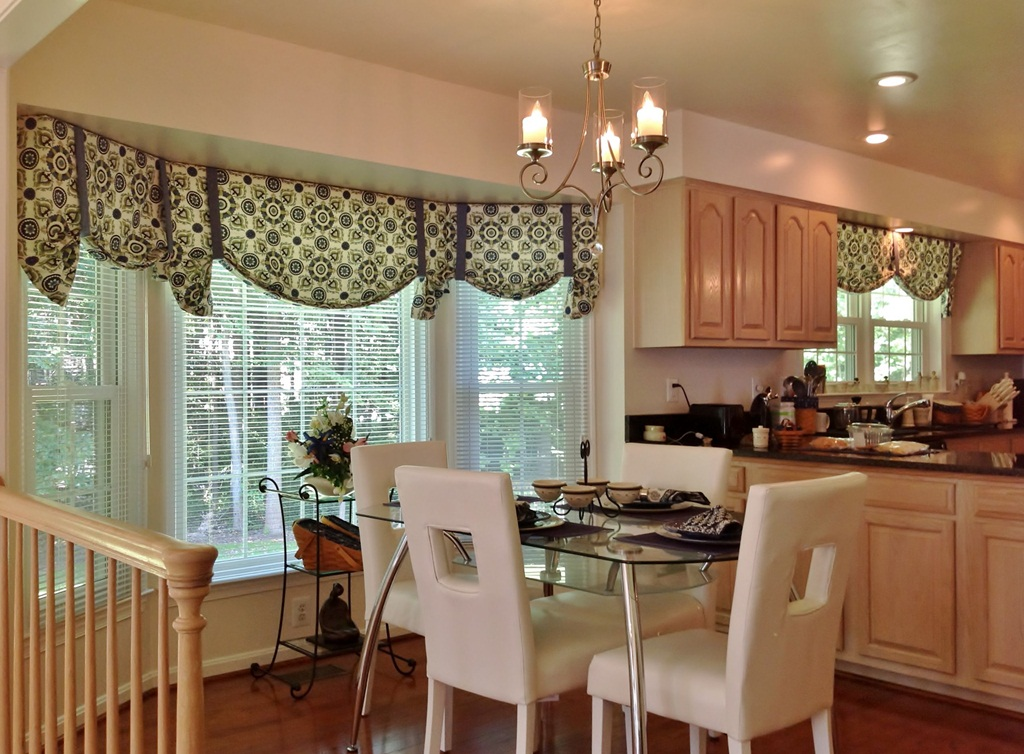 Decorate Home Elegantly Curtains Valances