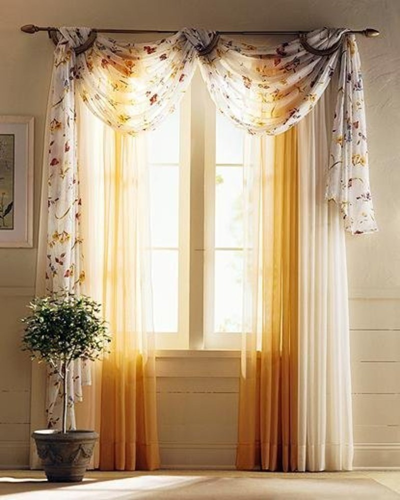 Silk Curtains Homes Charm