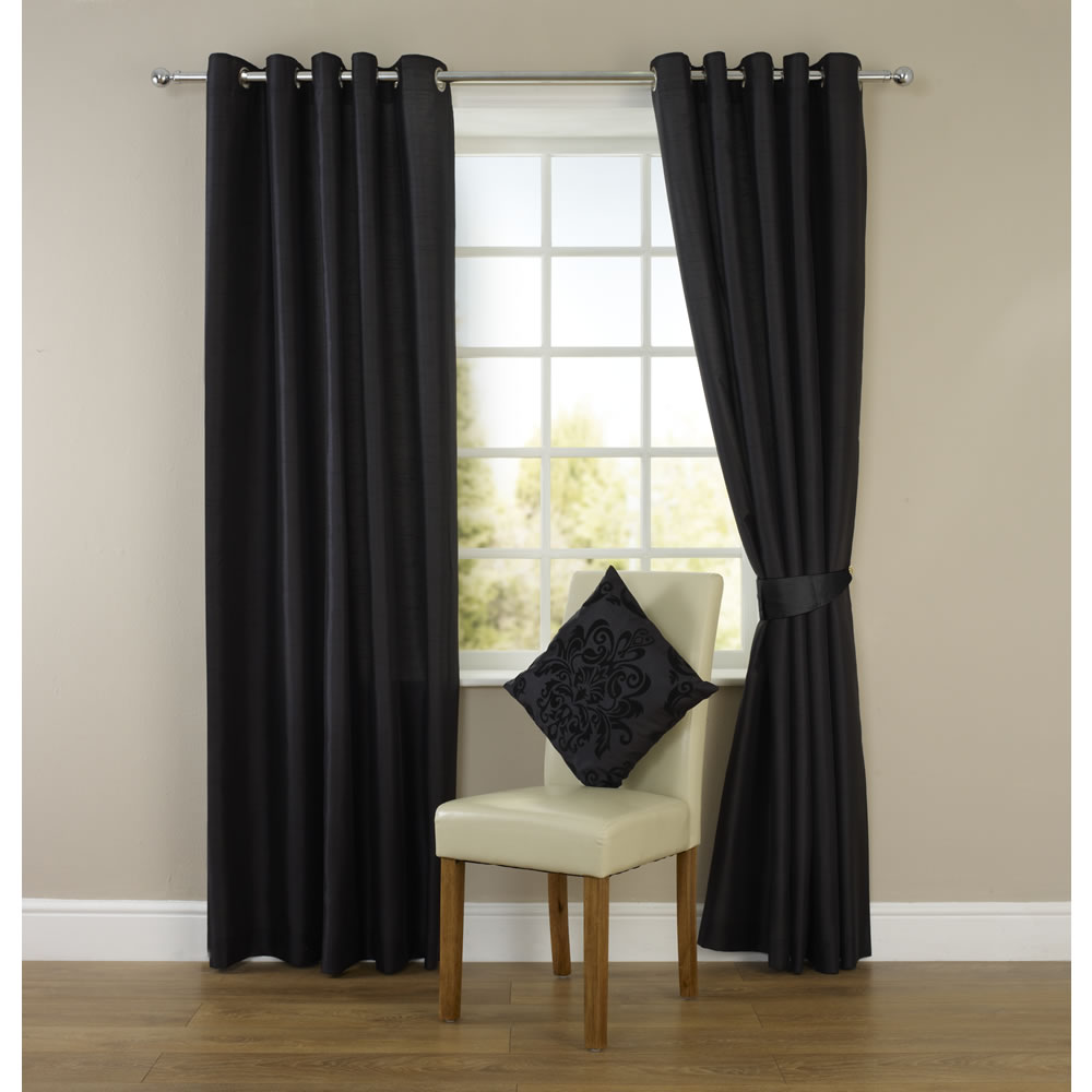 Affordable Faux Silk Curtains