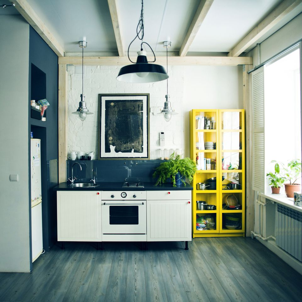 Attractive Small Kitchen