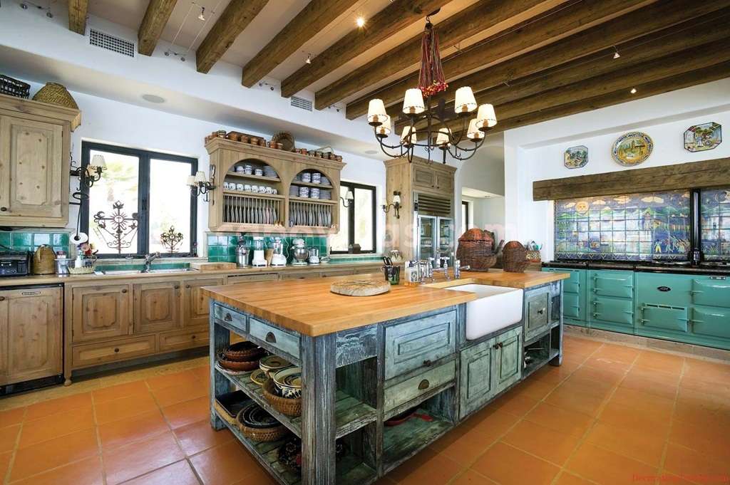Mexican Style Decor, Mexican Style Kitchen Design